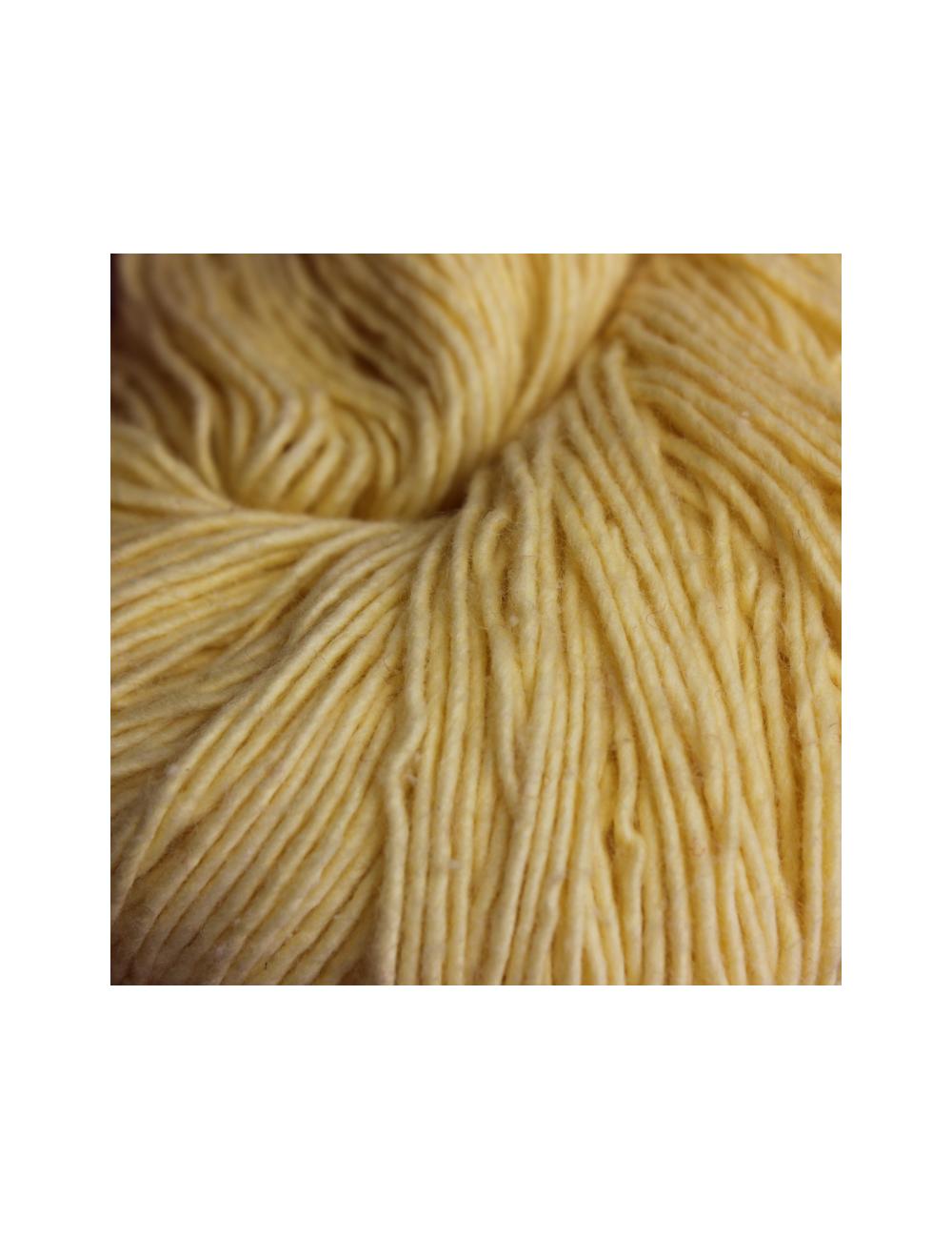 Cobalt Blue-Sari Silk Yarn-Hand Spun - SYBW006